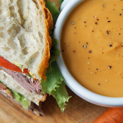 Combo of the Week: Soup & Sliced Pan Sandwich