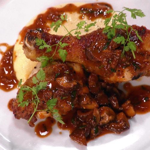 Hot Dish of the Week: Chicken Chasseur & Mash Potato
